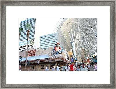 Las Vegas - The Srip - 121210 Framed Print by DC Photographer