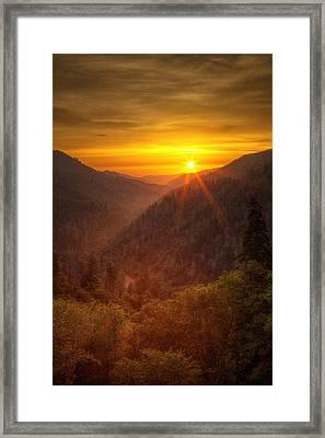 Last Rays Framed Print by Andrew Soundarajan