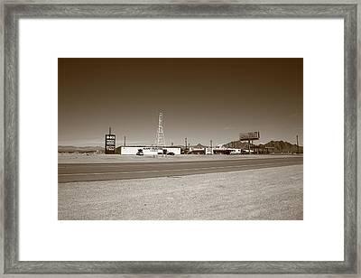 Lathrop Wells Nevada Framed Print