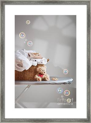 Laundry Framed Print by Amanda Elwell