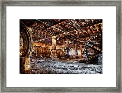 Laundry Room Framed Print by Emmanouil Klimis