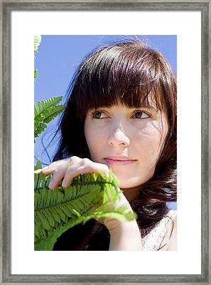 Laura The Outdoor Explorer Framed Print