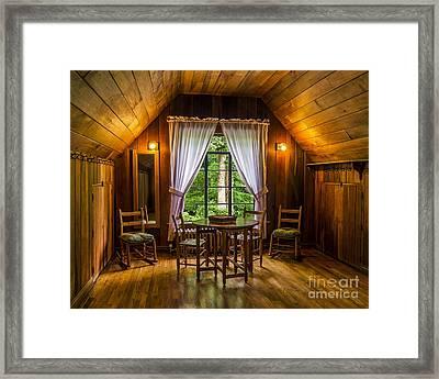 Laurel House Framed Print