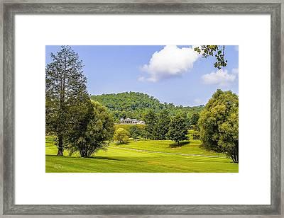 Laurel Valley G C Framed Print by Barry Jones