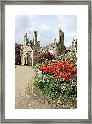 Lauriston Castle Framed Print by Grant Glendinning