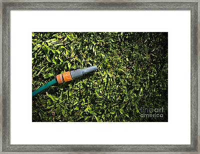 Lawn Maintenance And Garden Care Framed Print by Jorgo Photography - Wall Art Gallery