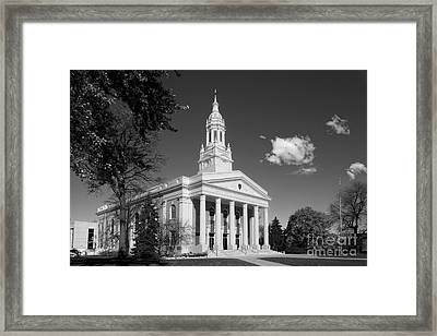Lawrence University Memorial Chapel Framed Print by University Icons