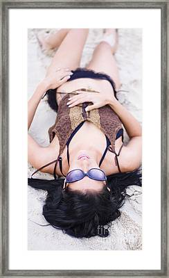 Lazy Day In The Sun Framed Print