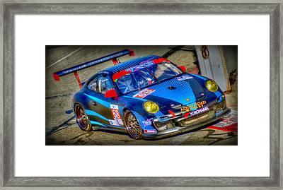 Lbgp Porsche Framed Print