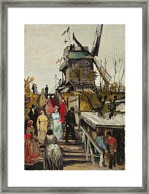 Le Moulin De Blute Fin Framed Print