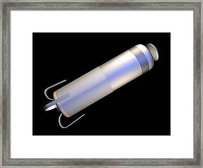 Leadless Cardiac Pacemaker Framed Print