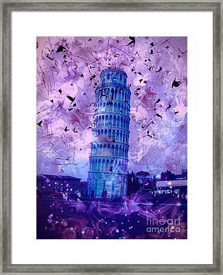 Leaning Tower Of Pisa 2 Framed Print