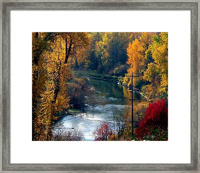 Leavenworth Fall Framed Print