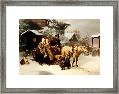 Leaving Home Framed Print by Mountain Dreams