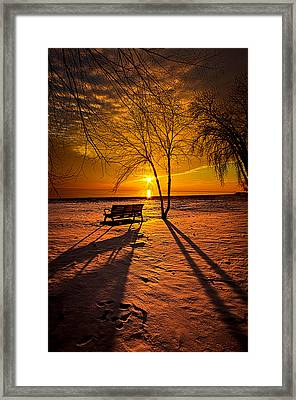 Left Behind Framed Print by Phil Koch