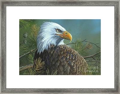 Framed Print featuring the painting Legacy by Mike Brown