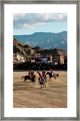 Leh, Ladakh, India Framed Print by Jaina Mishra