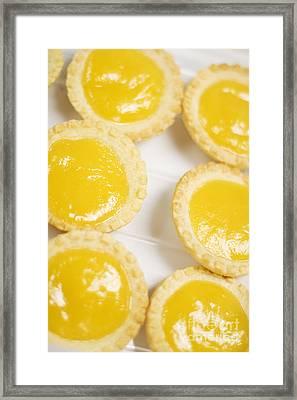 Lemon Tarts Framed Print