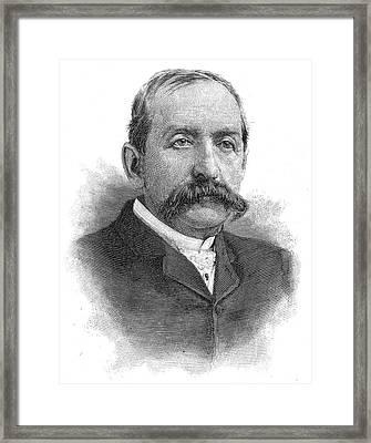Leonard Jerome (1817-1891) Framed Print by Granger