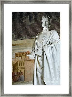 Leonardo Fibonacci, Italian Framed Print
