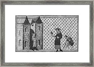 Leper House, C1220-1244 Framed Print by Granger