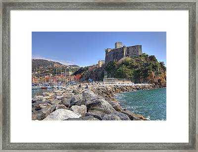 Lerici Framed Print