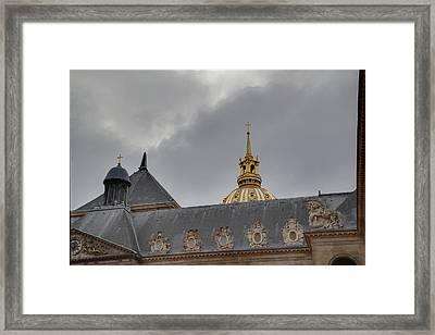Les Invalides - Paris France - 011311 Framed Print