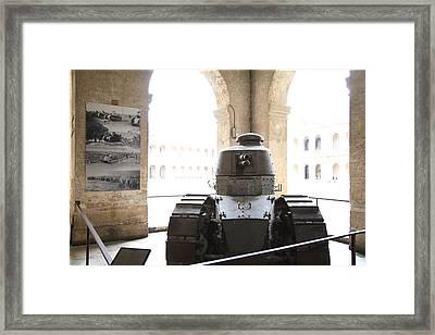 Les Invalides - Paris France - 01134 Framed Print