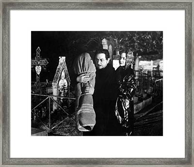 Les Yeux Sans Visage  Framed Print by Silver Screen