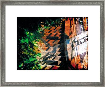 Framed Print featuring the photograph Less Travelled 19 by The Art of Marsha Charlebois