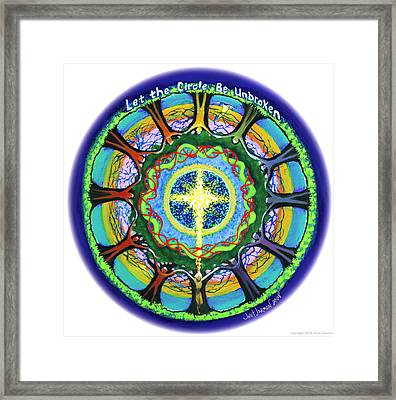 Let The Circle Be Unbroken Framed Print