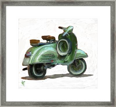Let's Go For A Ride Framed Print