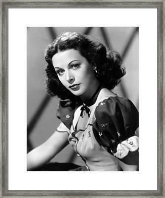 Lets Live A Little, Hedy Lamarr, 1948 Framed Print by Everett