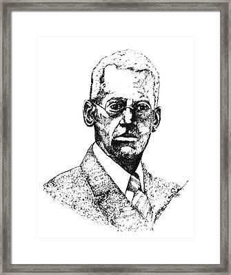 Lewis Latimer (1848-1928) Framed Print