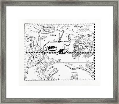 Libra Framed Print by Detlev Van Ravenswaay