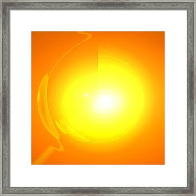 Sonnen-portal Framed Print by Ramon Labusch