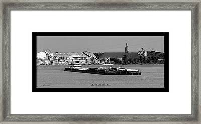 Life On The Ohio River Framed Print
