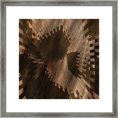 Light At The End Of The Tunnel Framed Print by Jack Zulli