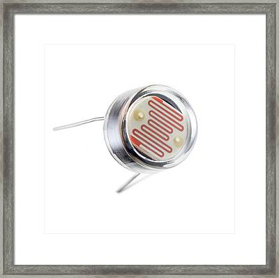 Light Dependent Resistor Framed Print