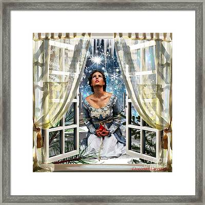 Light Of The World Framed Print by Dolores Develde