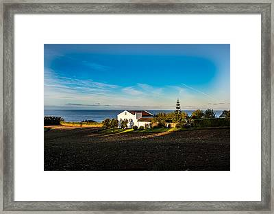 Light Of Warmth Framed Print