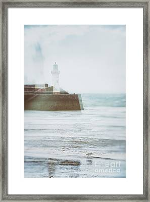 Lighthouse Framed Print by Amanda Elwell