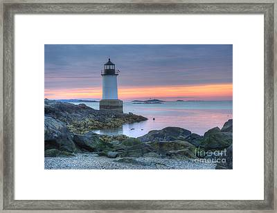 Lighthouse Framed Print by Juli Scalzi