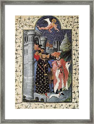Limbourg, Jean Ca. 1370-1416 Limbourg Framed Print by Everett