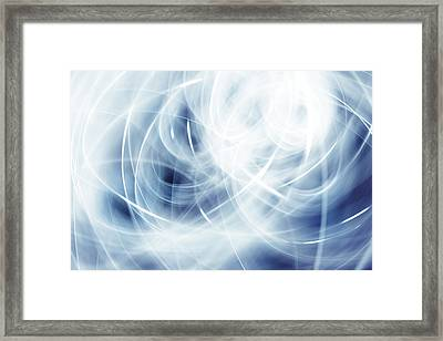 Lines Framed Print by Les Cunliffe