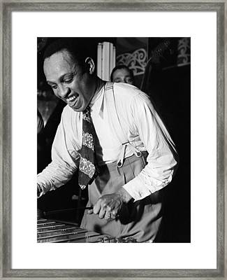 Lionel Hampton (1908-2002) Framed Print by Granger