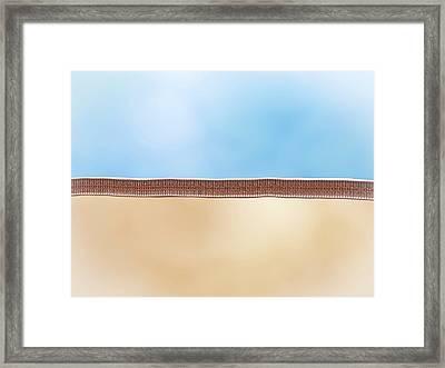 Lipid Membrane Framed Print by Maurizio De Angelis