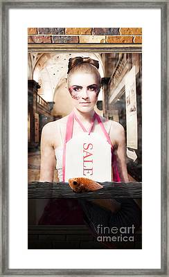 Liquidation Sale Framed Print by Jorgo Photography - Wall Art Gallery