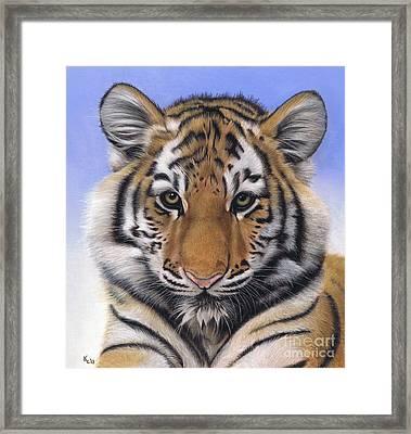 Little Big Cat Framed Print