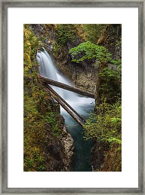 Little Qualicum Falls Framed Print